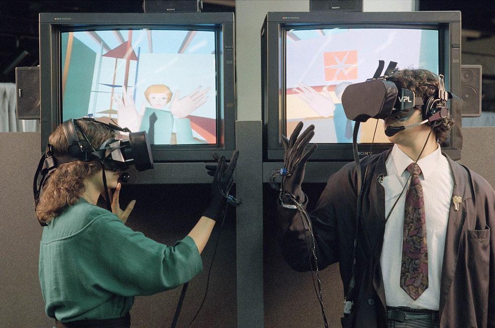 EyePhone - El primer casco de realidad virtual
