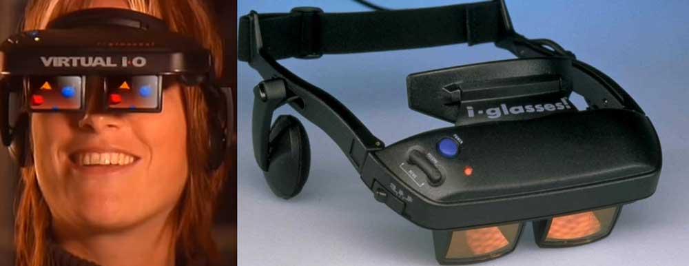 Gafas de VR de Virtual IO