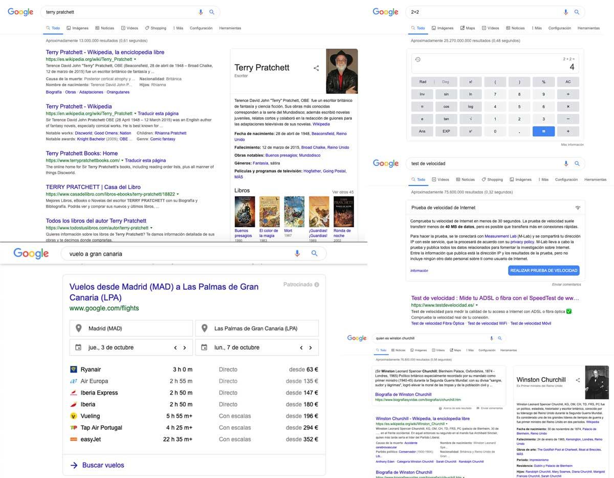 Capacidades de Google